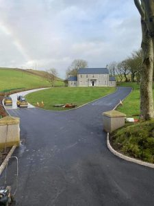 Tarmacadam driveway paving Dublin